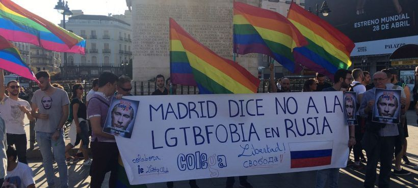 Colega publicly denounces the systematic persecution of the gay collective in Chechnya